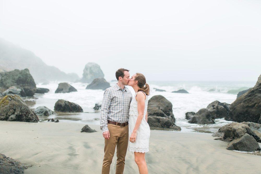 Mile Rock Beach Engagement Session - San Francisco Wedding Photographer - Foggy Engagement Photos SF (6).jpg