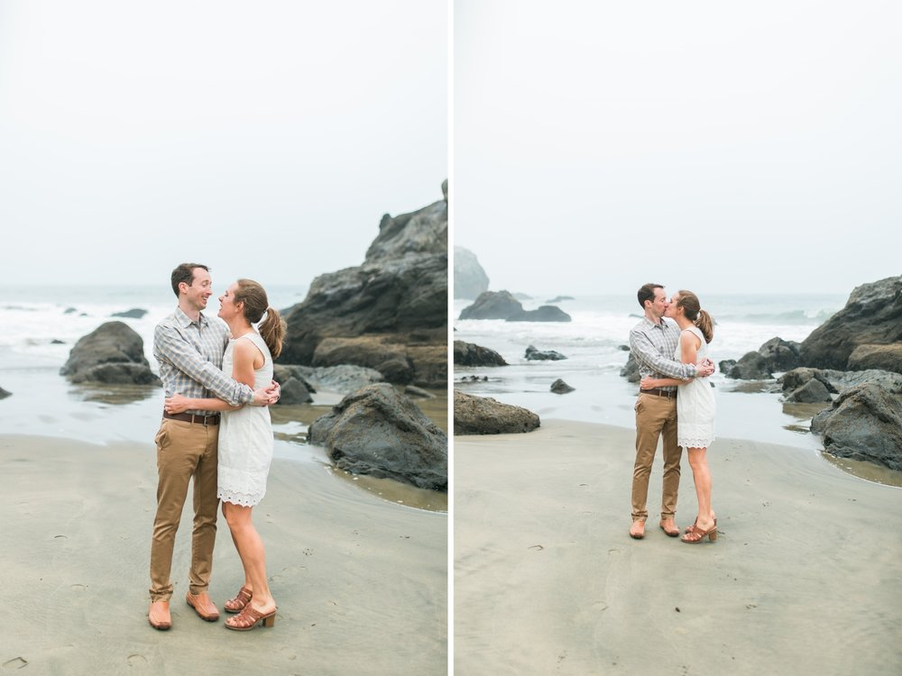 Mile Rock Beach Engagement Session - San Francisco Wedding Photographer - Foggy Engagement Photos SF (5).jpg
