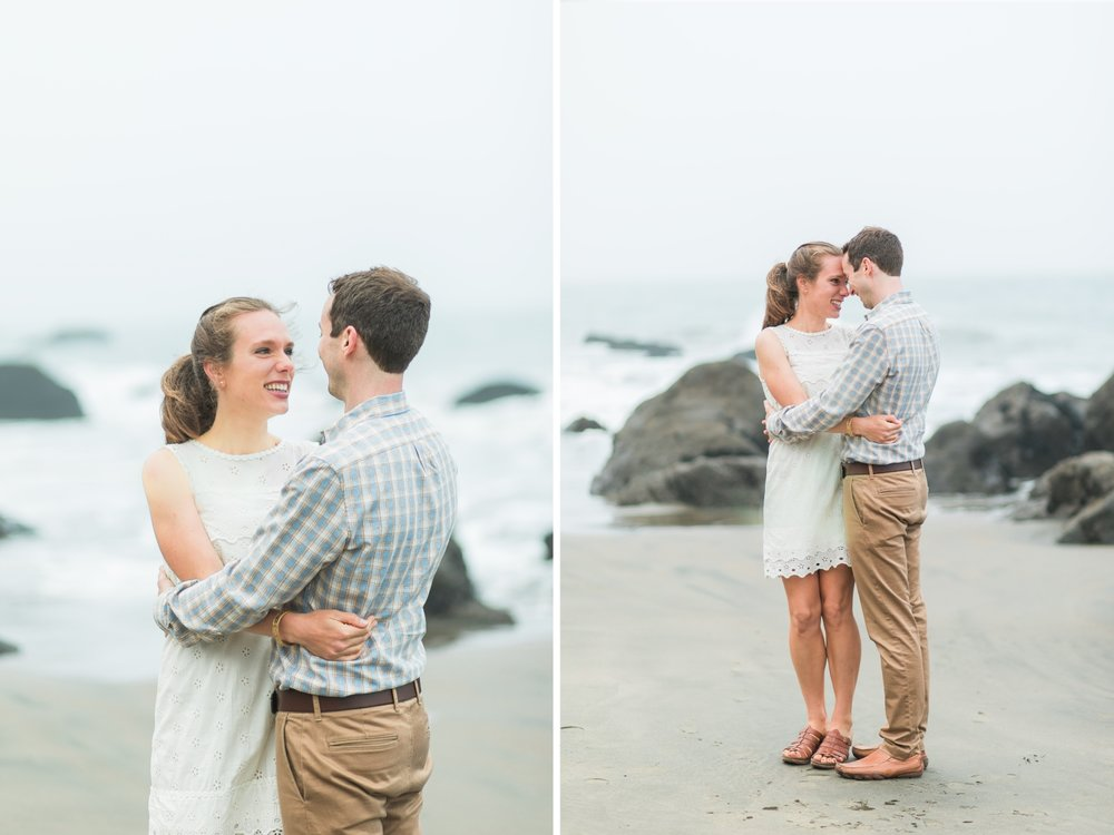 Mile Rock Beach Engagement Session - San Francisco Wedding Photographer - Foggy Engagement Photos SF (7).jpg