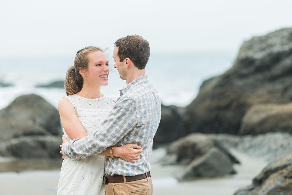 Mile Rock Beach Engagement Session - San Francisco Wedding Photographer - Foggy Engagement Photos SF (8).jpg