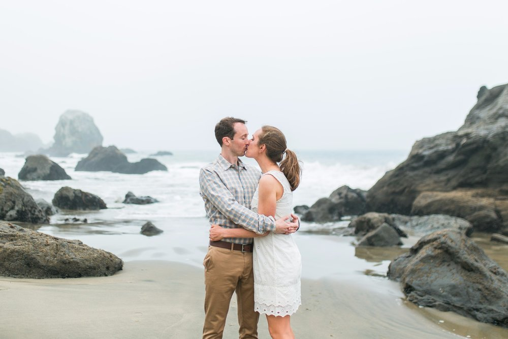 Mile Rock Beach Engagement Session - San Francisco Wedding Photographer - Foggy Engagement Photos SF (10).jpg