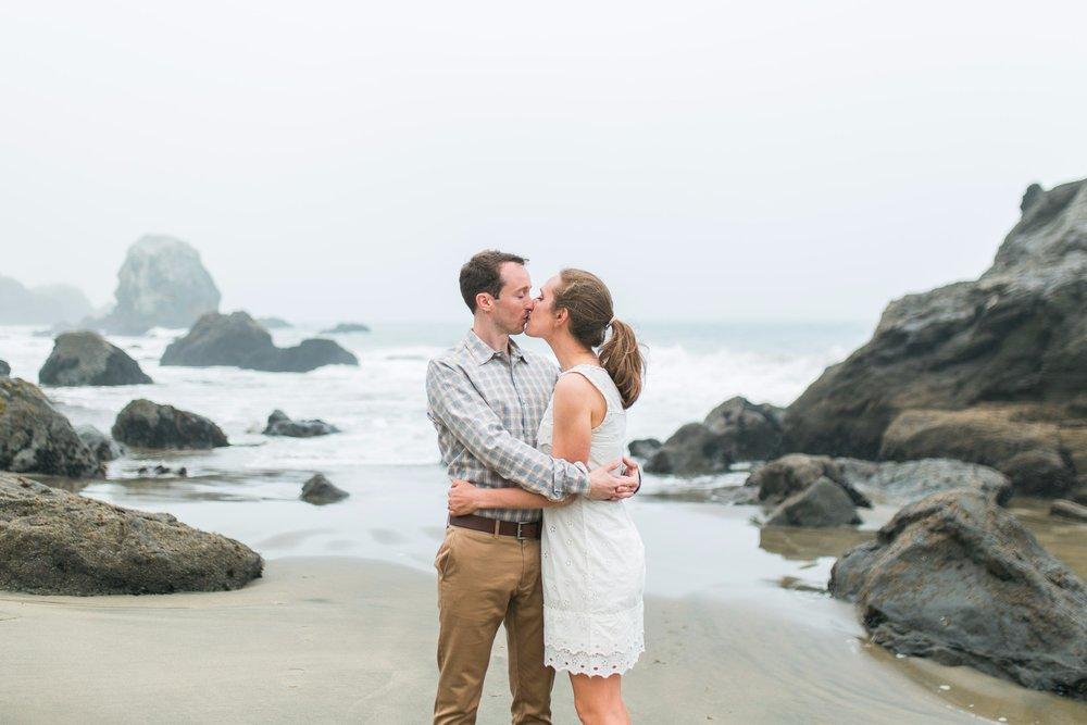Mile Rock Beach Engagement Session - San Francisco Wedding Photographer - Foggy Engagement Photos SF (10).jpg