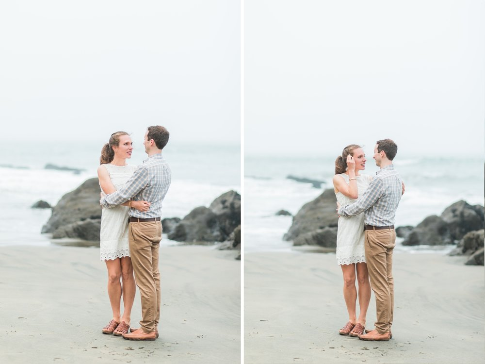 Mile Rock Beach Engagement Session - San Francisco Wedding Photographer - Foggy Engagement Photos SF (9).jpg