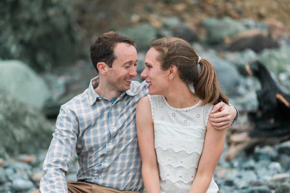 Mile Rock Beach Engagement Session - San Francisco Wedding Photographer - Foggy Engagement Photos SF (14).jpg