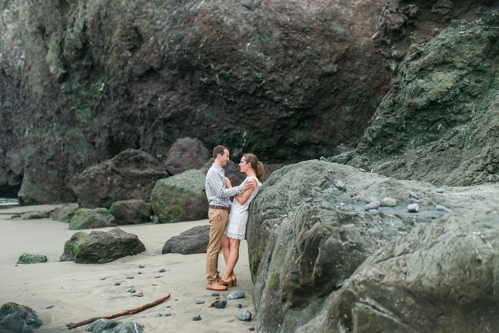 Mile Rock Beach Engagement Session - San Francisco Wedding Photographer - Foggy Engagement Photos SF (16).jpg