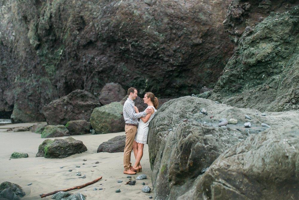 Mile Rock Beach Engagement Session - San Francisco Wedding Photographer - Foggy Engagement Photos SF (16).jpg