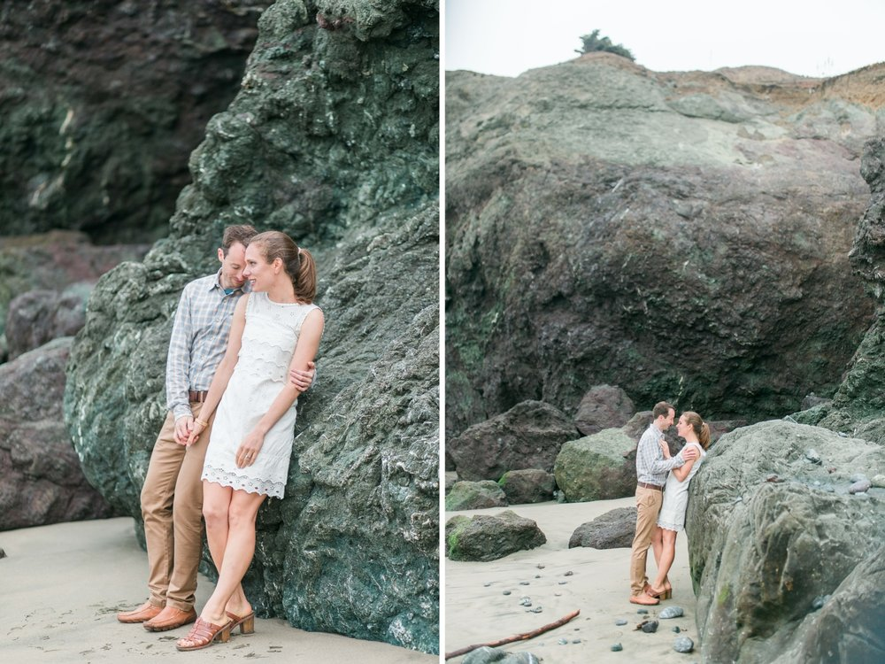 Mile Rock Beach Engagement Session - San Francisco Wedding Photographer - Foggy Engagement Photos SF (17).jpg