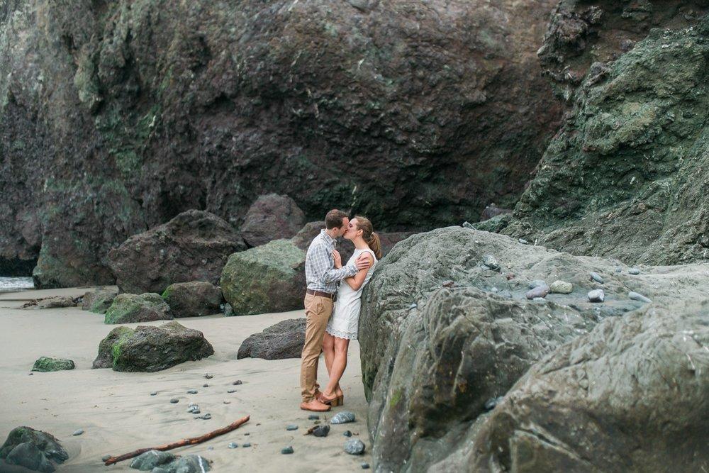 Mile Rock Beach Engagement Session - San Francisco Wedding Photographer - Foggy Engagement Photos SF (18).jpg