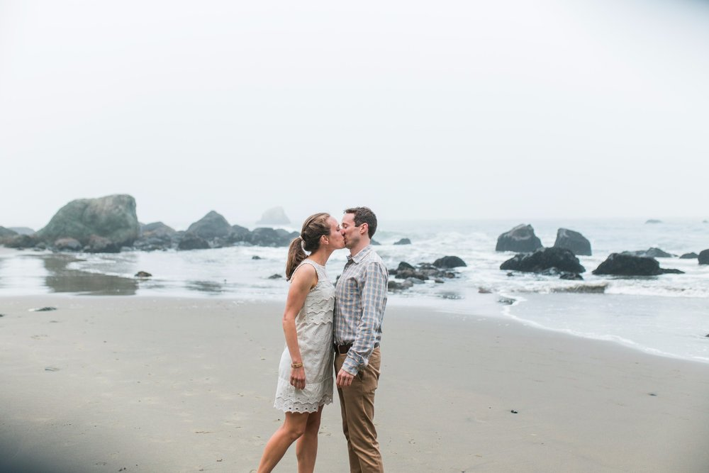 Mile Rock Beach Engagement Session - San Francisco Wedding Photographer - Foggy Engagement Photos SF (21).jpg
