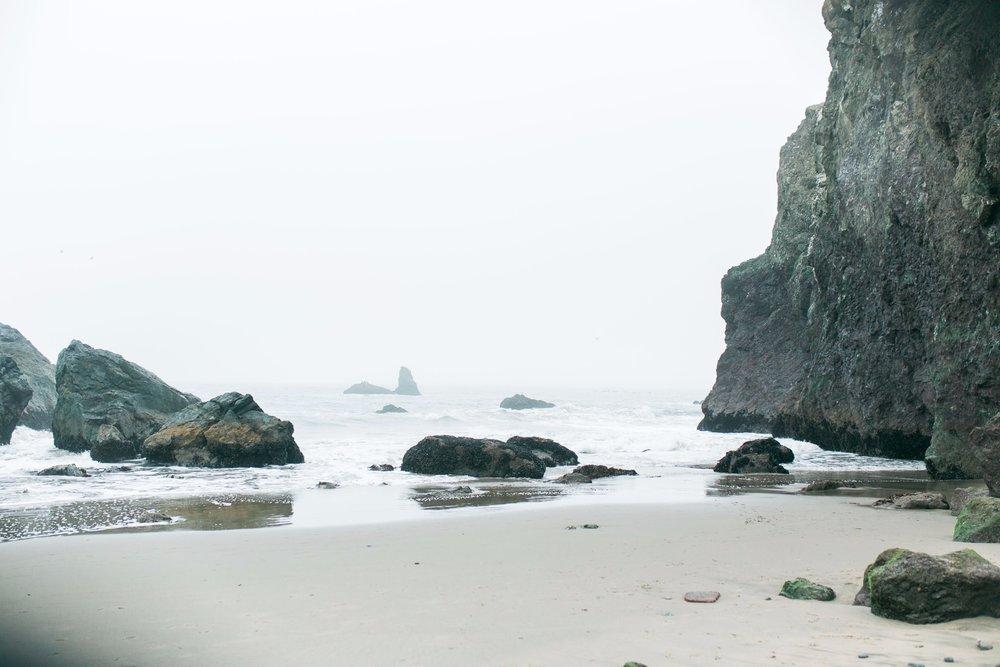 Mile Rock Beach Engagement Session - San Francisco Wedding Photographer - Foggy Engagement Photos SF (22).jpg