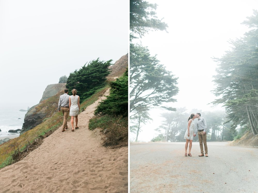 Mile Rock Beach Engagement Session - San Francisco Wedding Photographer - Foggy Engagement Photos SF (24).jpg