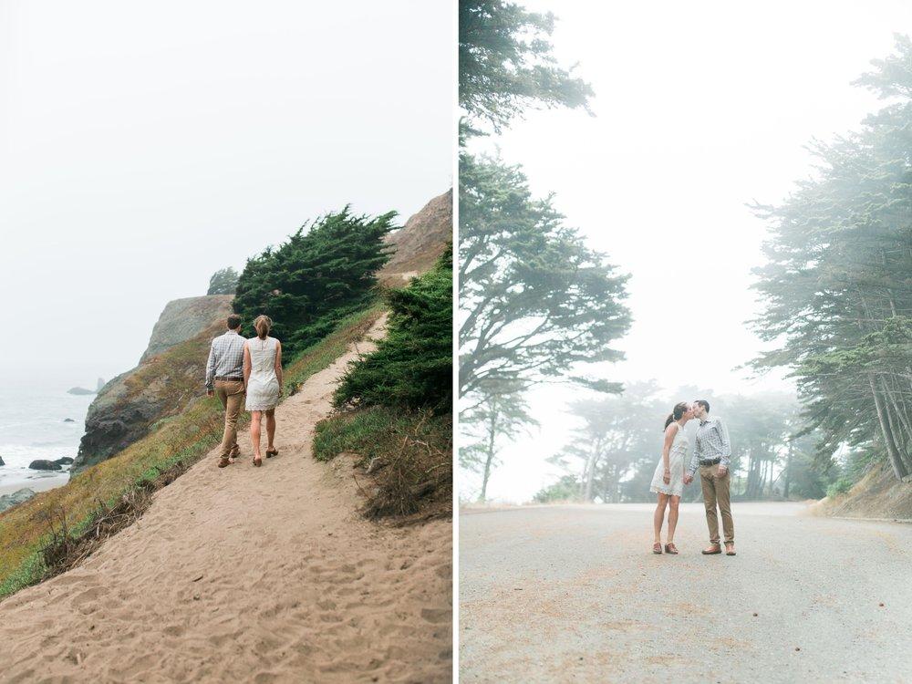 Mile Rock Beach Engagement Session - San Francisco Wedding Photographer - Foggy Engagement Photos SF (24).jpg