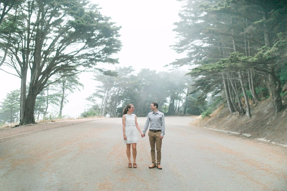 Mile Rock Beach Engagement Session - San Francisco Wedding Photographer - Foggy Engagement Photos SF (25).jpg