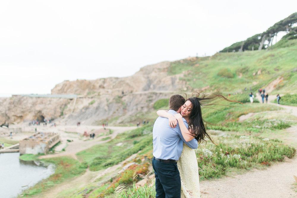 Lands End Engagement Photos - San Francisco Wedding Photographer - JBJ Pictures (5).jpg