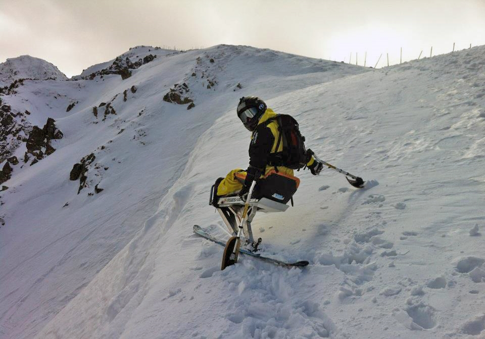 Sitskiing brings to people with limited mobility amazing freedom, which is very pleasant especially in winter.