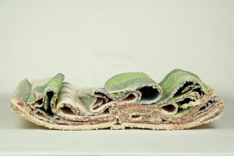 Alexis Arnold ,Crystallized Books Sculptures #artpeople