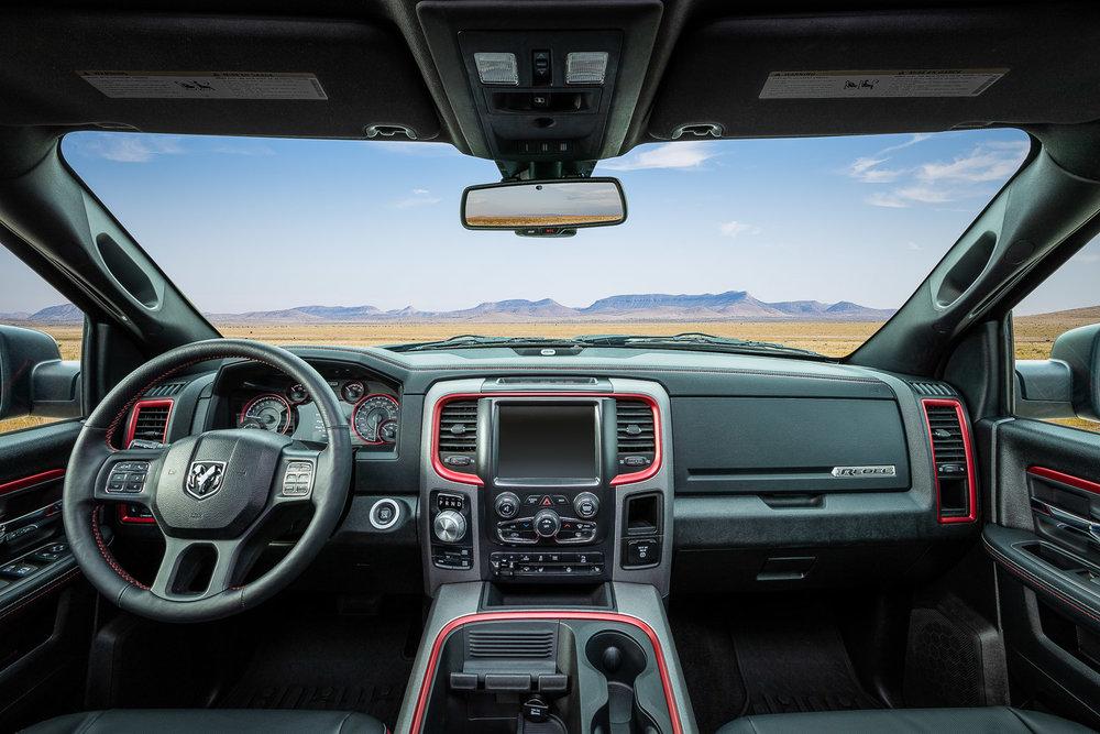 ATV / 1500 Rebel / interiors