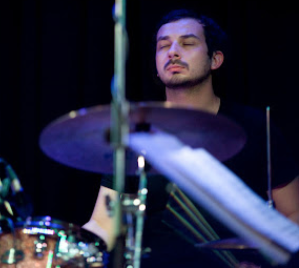 Joe Talia, drums, electronics