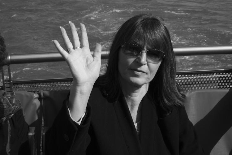 Stranger on Boat Ride, Paris, France 2009