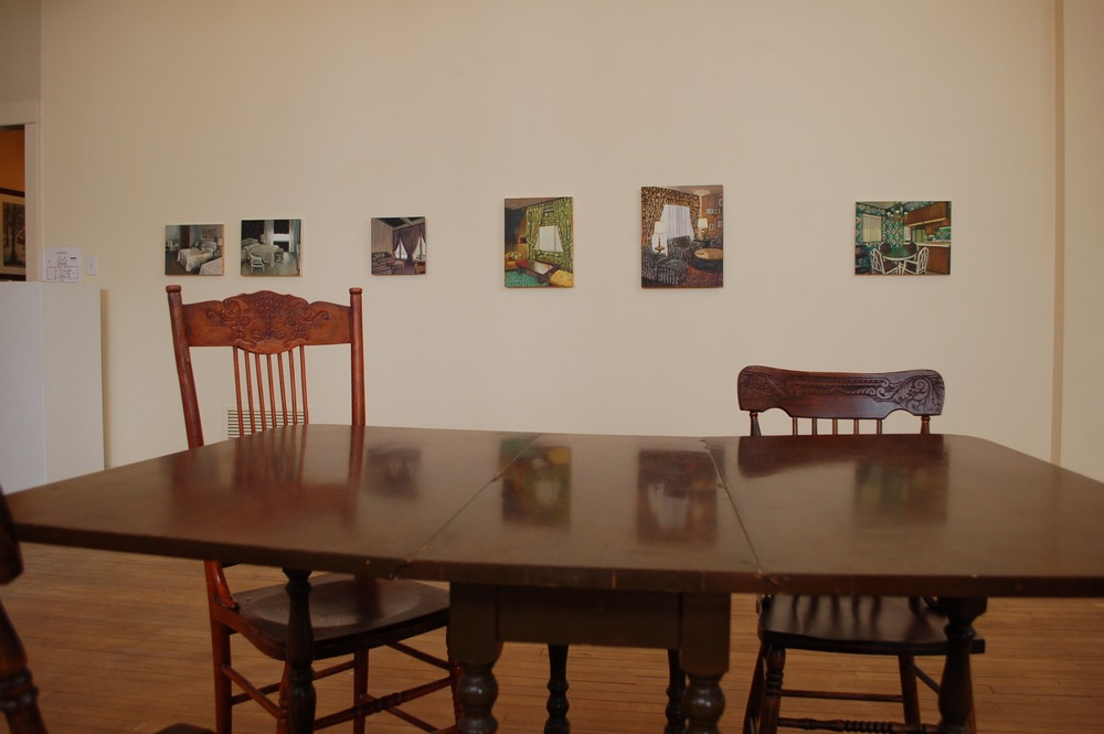 Exhibit Shot of  hiraeth   by Gillian WIllans