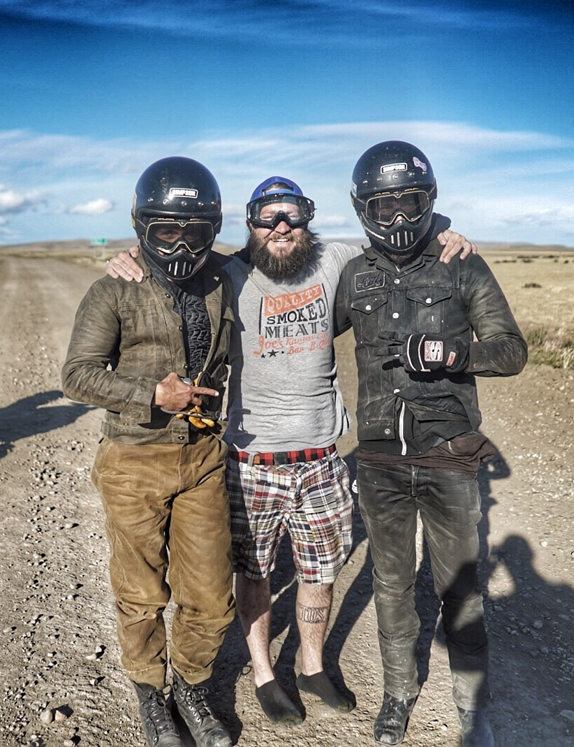 I suppose fin de pavmiento meant.  75 miles of dirt. A good day with Bert and Ernie.