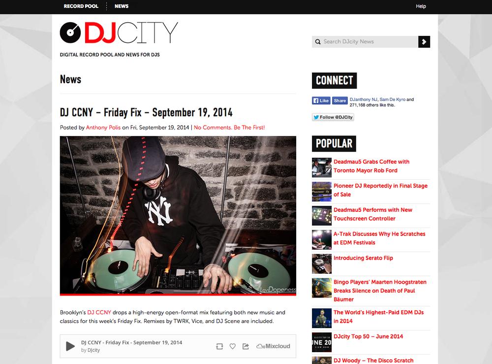 dj city — WORLD — DJ CC NEW YORK