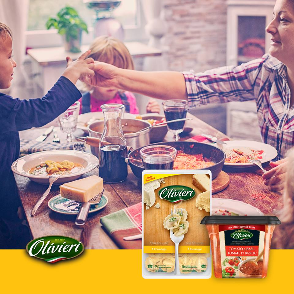 Olivieri Canada coupon - Save $2 on any Olivieri Fresh Pasta or Sauce