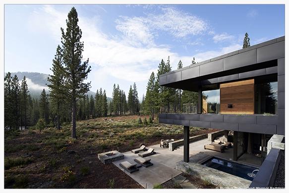 exterior perspective                                  image: marmol radziner