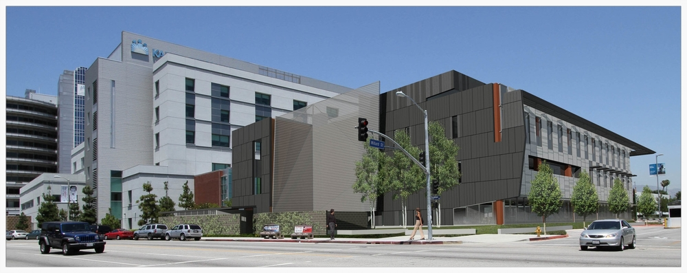 exterior perspective                                                                                                                   rendering: co architects