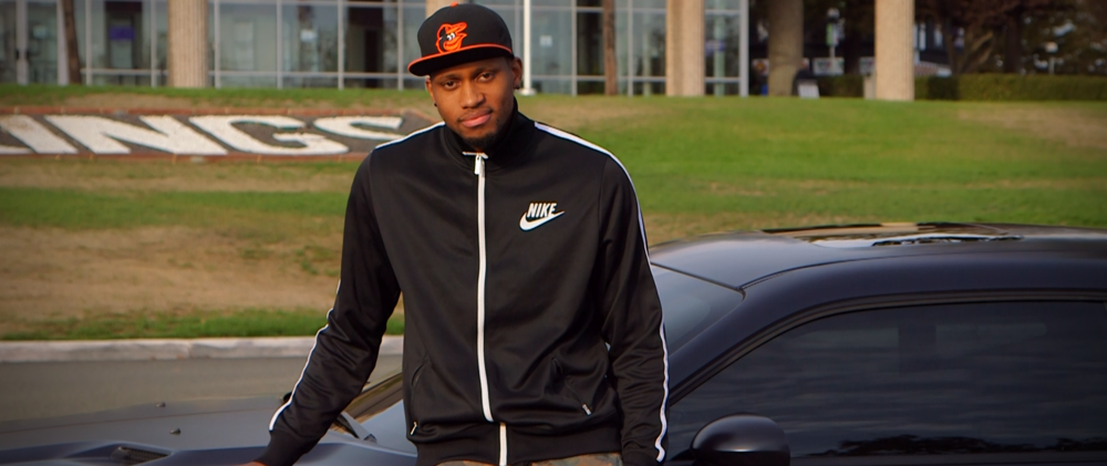 WATCH RUDY GAY SWAG OUT HIS DODGE CHALLENGER - BLEACHER REPORT   WATCH