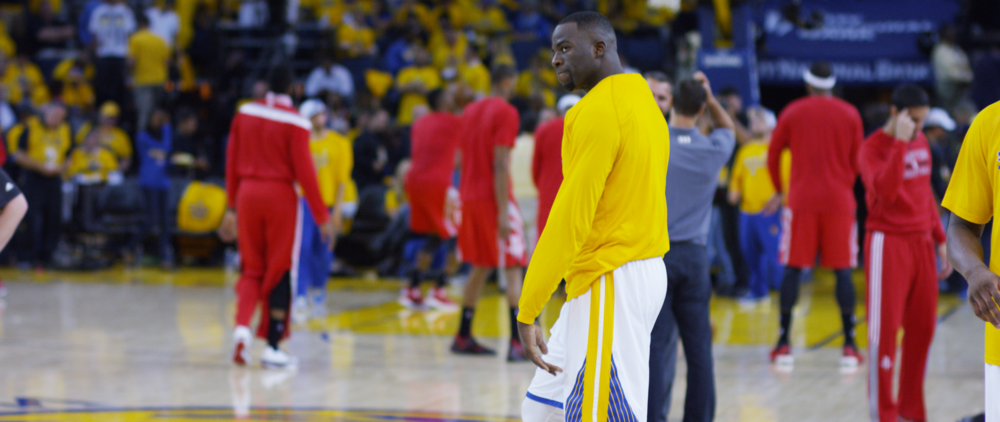 DRAYMOND ON STEPH CURRY INJURY - BLEACHER REPORT WATCH