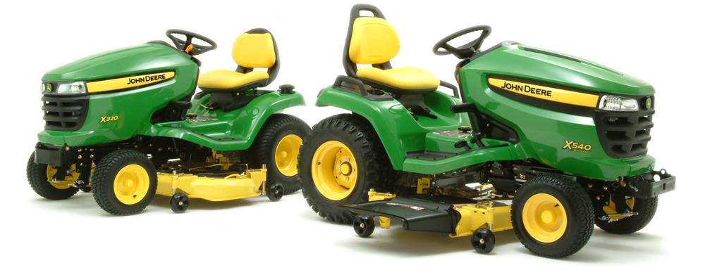 John Deere Lawn Tractors X300 Series : John deere lawn tractor car interior design