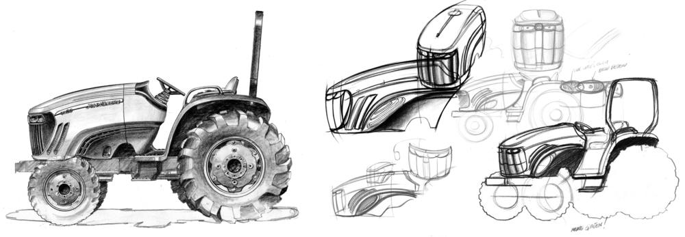 John Deere - Utility Tractors — Insync Design Inc.