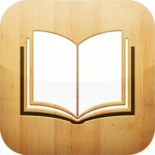 iBooks icon. retrieved from Wikipedia.