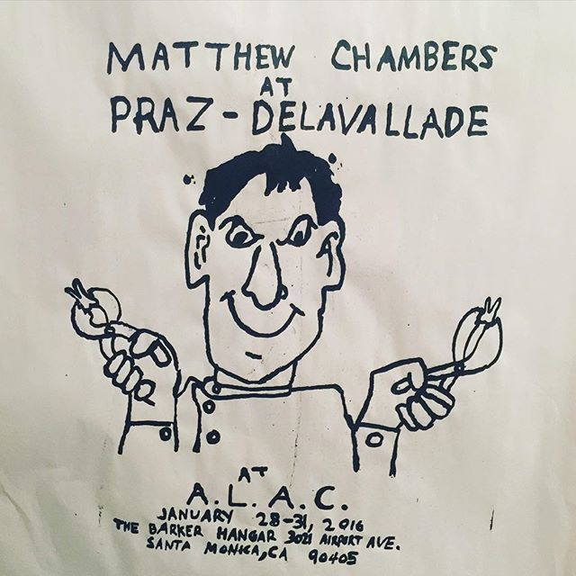 #MatthewChambers work is awesome. Go see it in person. This is the gig poster.