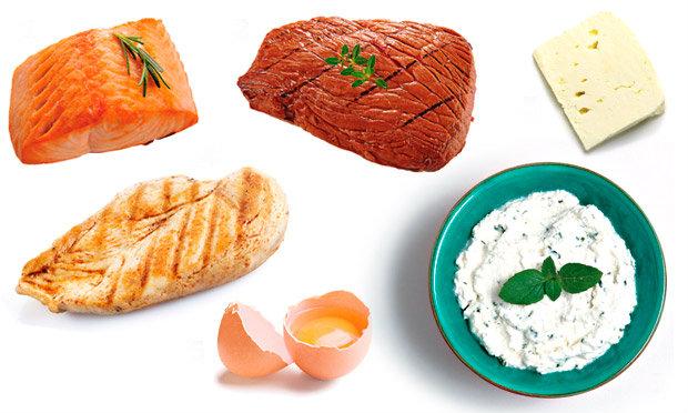 Alimentos que possuem colágeno.