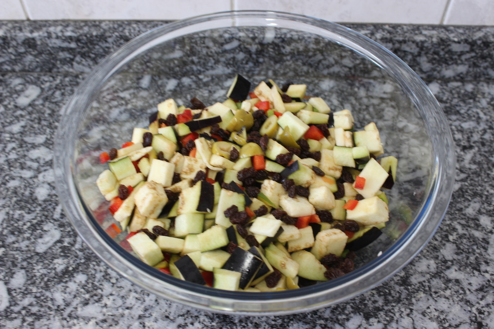 Ingredientes picados - Foto por Nana Bastos e Bruno França