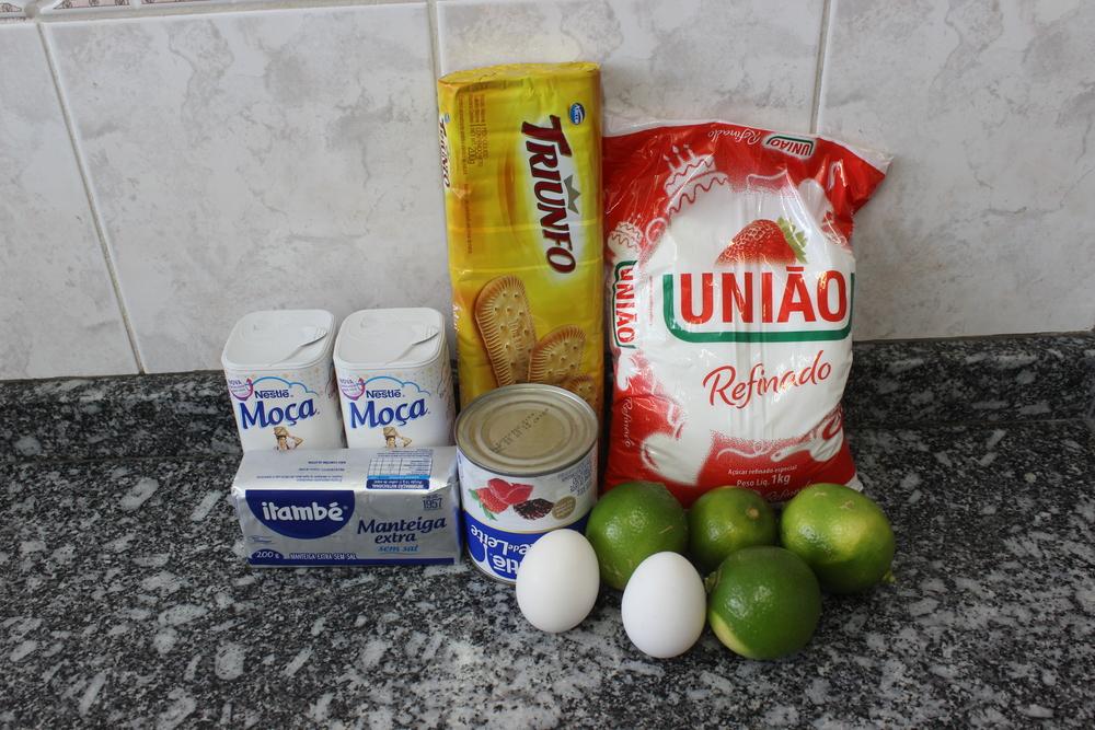 Ingredientes Torta Limão - Foto por Bruno França e Nana Bastos