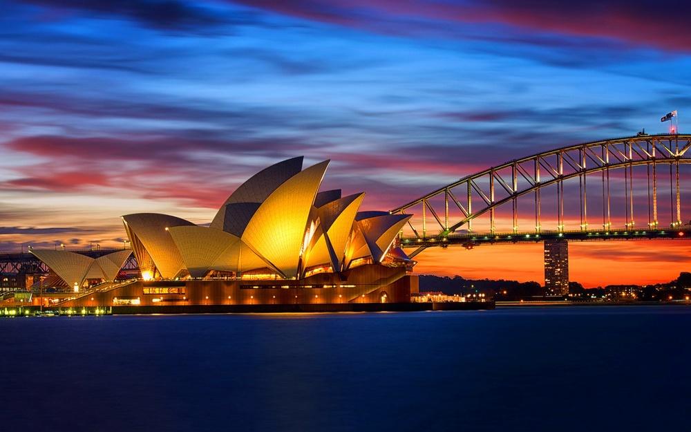 Foto do Opera House em Sydney na Austrália!