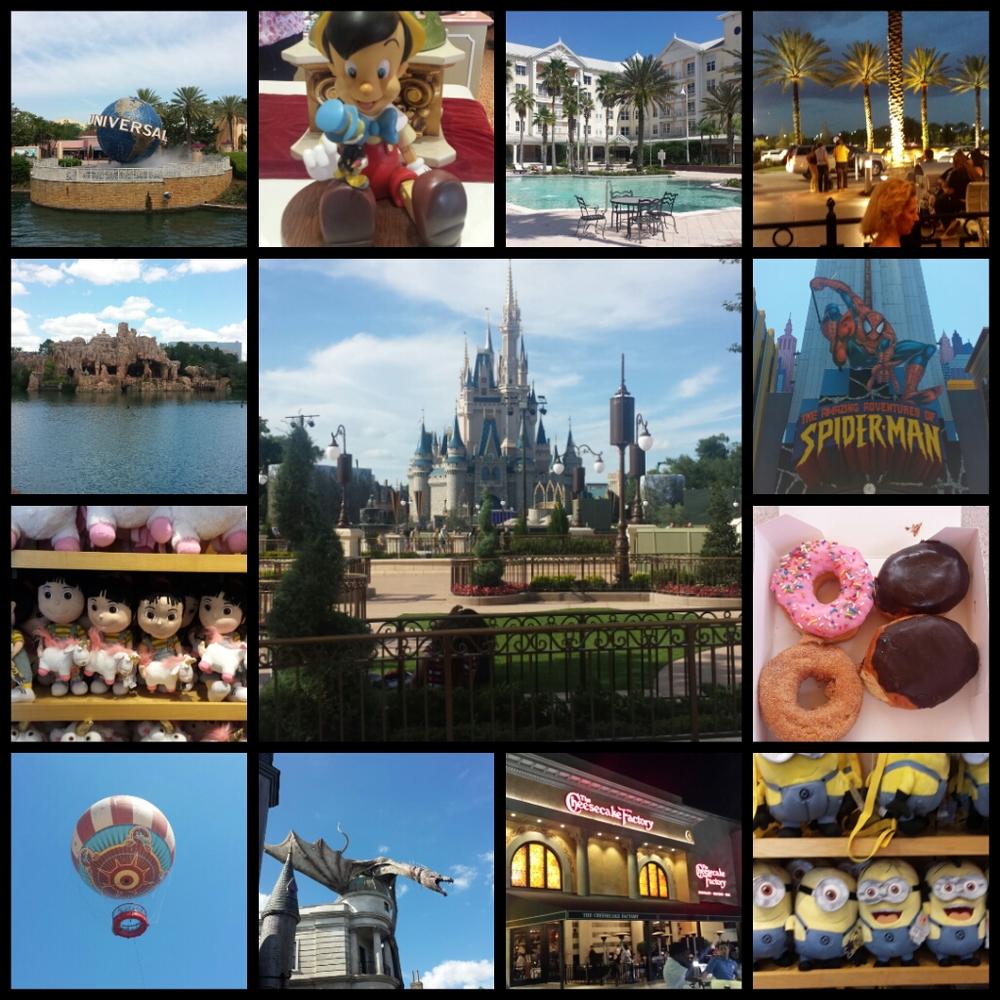 Fotos da viagem a Orlando