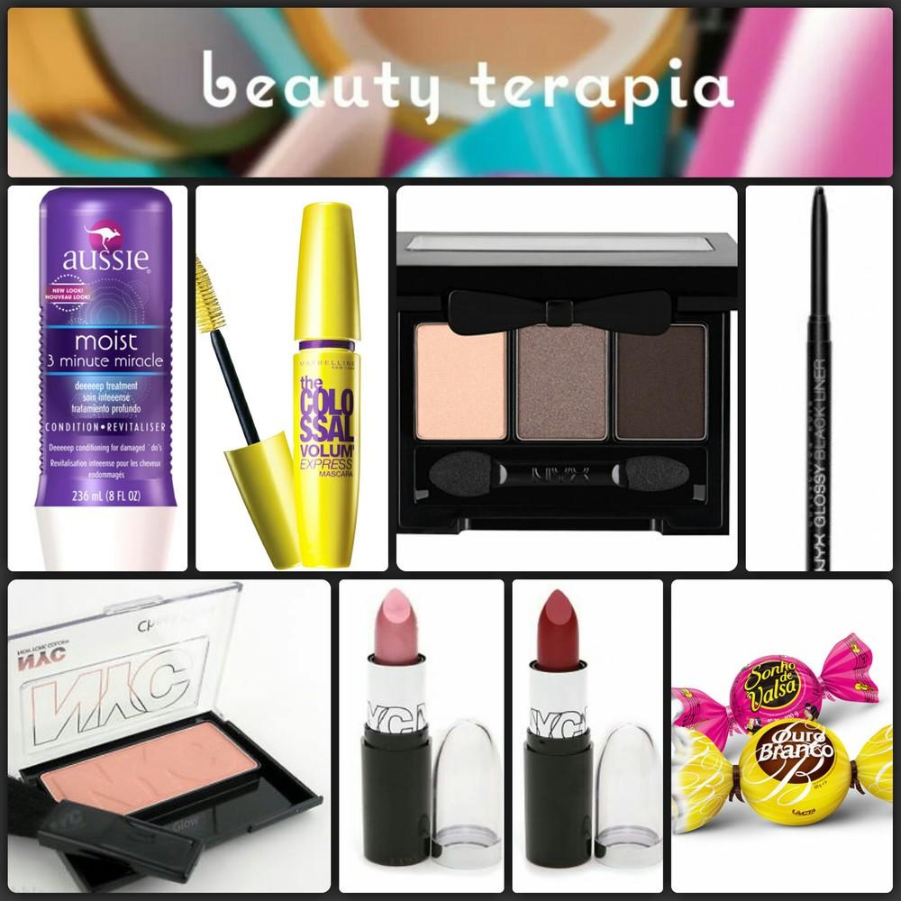Itens da caixa presente do Beauty Terapia