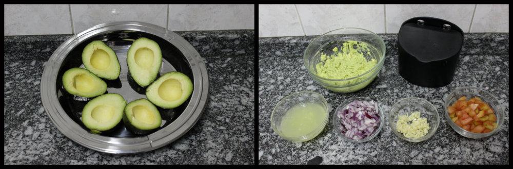 Modo de preparo Guacamole - Foto por Bruno França