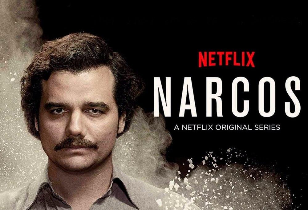 Narcos com Wagner Moura e Pedro Pascal