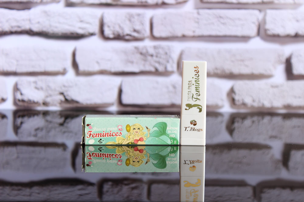 Embalagem e caixinha batom Ariel - Foto por Bruno França