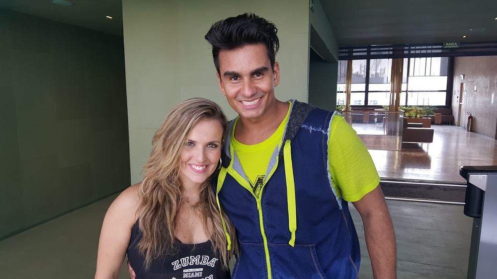 Raphael Rosa e sua Esposa! Foto por Nana Bastos