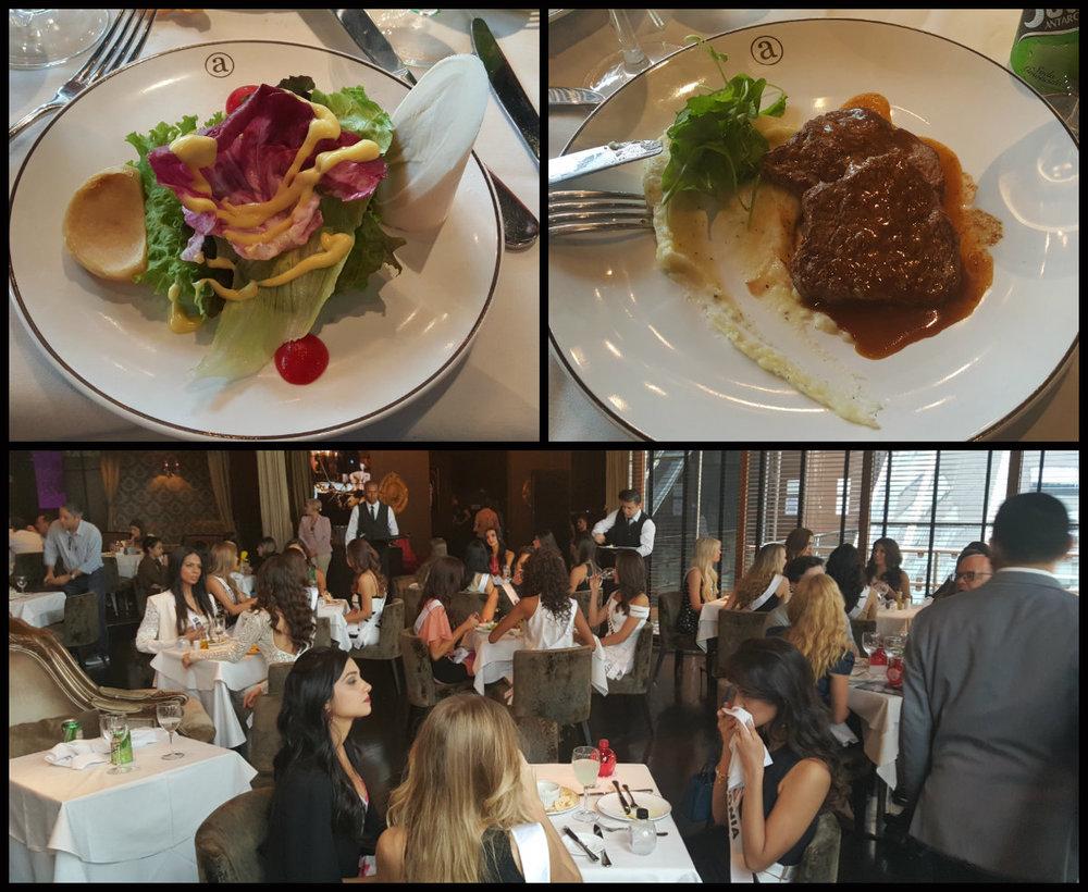Almoço no Club A - Foto por Nana Bastos