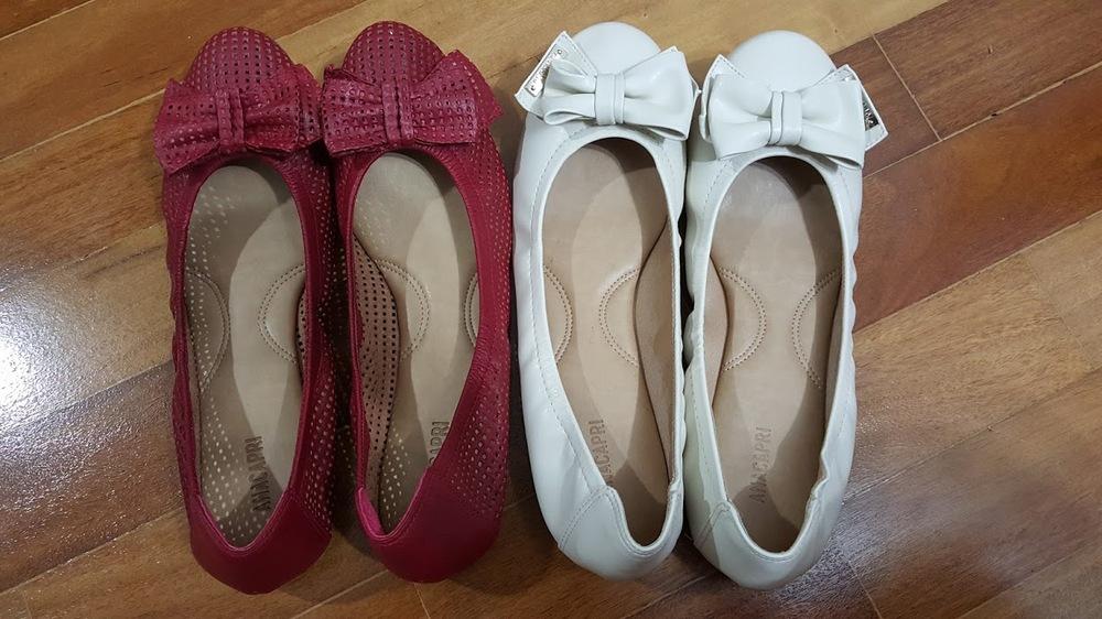 Minhas sapatilhas da Black Friday da loja Ana Capri.