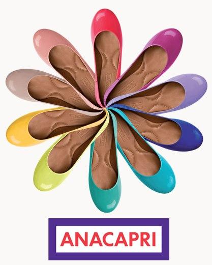 Ana Capri é minha escolha para sapatos online!