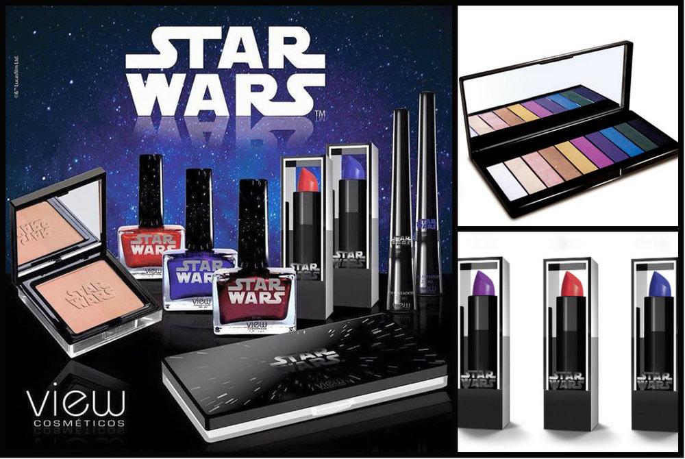 Coleção Star Wars View Cosmético!