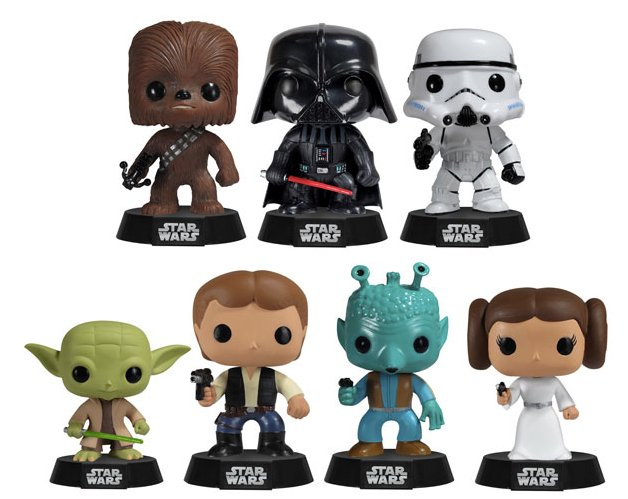 Funkos Star Wars!